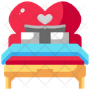 Bed Honeymoon Bedroom Icon