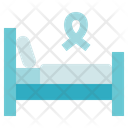 Charity Donation Bed Icon