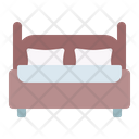 Bed Double Room Icon