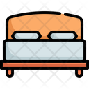 Bed Bedroom Furniture Icon