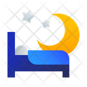 Bed Night Hotel Icon