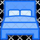 Bed Bedrooms Sleep Icon