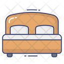 Bed Sleep Bedroom Icon