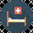 Bed Health Hospital Icon