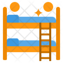 Bed Double Bed Cleaning Icon