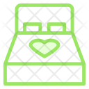 Bed Heart Love Icon