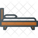 Bed Simple Sleep Icon