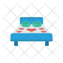 Bed Sleep Interior Icon