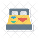 Bed Romance Sleep Icon