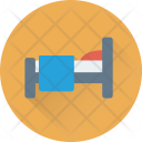 Bed Single Rest Icon