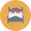 Bed Double Rest Icon