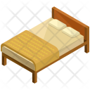 Wooden Bed Frame Icon