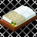 Bed Isometric Icon