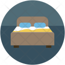 Bed Bedroom Double Icon