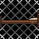 Twin Bed Furniture Icon