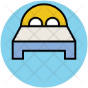 Bed Double Sleep Icon