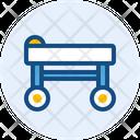 Bed Patient Patient Stretcher Icon
