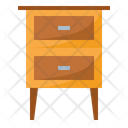 Bed side table Icon