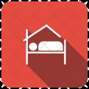 Bed Sleep House Icon