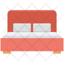 Bedroom Double Furniture Icon