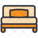 Bedroom Pillow Bed Icon