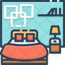 Bedroom Dorm Dormer Icon