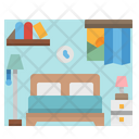 Bedroom Bed Beds Icon