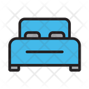 Bed Bedroom Environment Icon