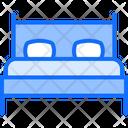 Bedroom Bed Bedroom Furniture Icon
