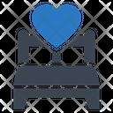Bedroom Love Heart Icon