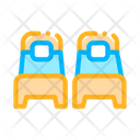 Two Single Place Icon