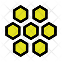Bee Honey Honeycomb Icon