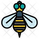 Bee Honey Food And Restaurant Icon