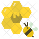 Bee Honey Hive Icon