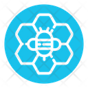 Wax Apiary Honeycomb Icon