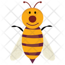 Cartoon Bee Honey Bee Bumblebee Icon