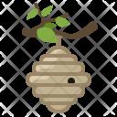Bee Beehive Hive Icon