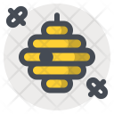 Bee Swarm Bees Icon