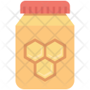 Bee Honey Beeswax Icon