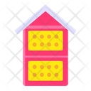 Bee House Bee Box Bee Container Icon