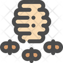 Bee Hive Honey Icon