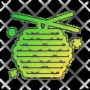 Bee Hive Honey Bee Icon