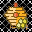 Bee Hive Honey Icon