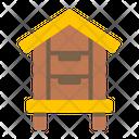 Bee House Hive Beekeeper Icon