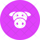Beef Cow Meat Icon