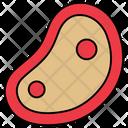 Piece Slice Beef Icon
