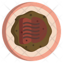Beef And Spiced Tomato Sauce Icon