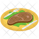 Beef Steak Platter Icon