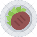 Beefsteak Cook Cooking Icon