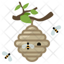 Beehive Bees Hive Icon